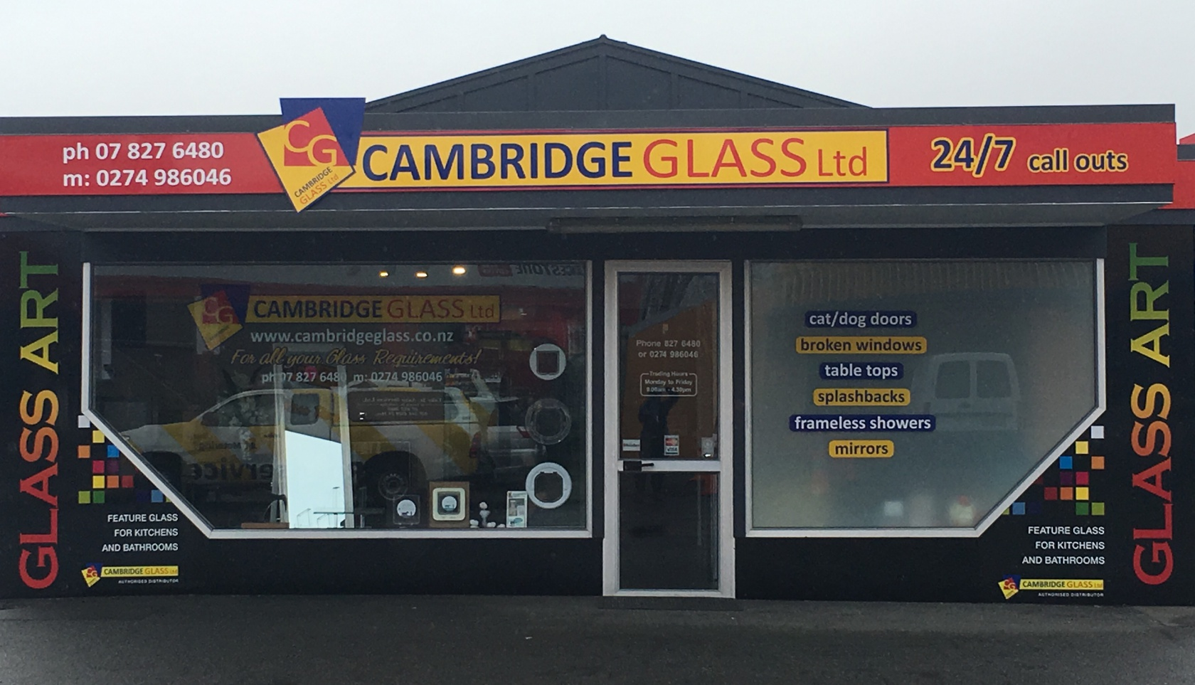 Cambridge Glass Shop Front - full size